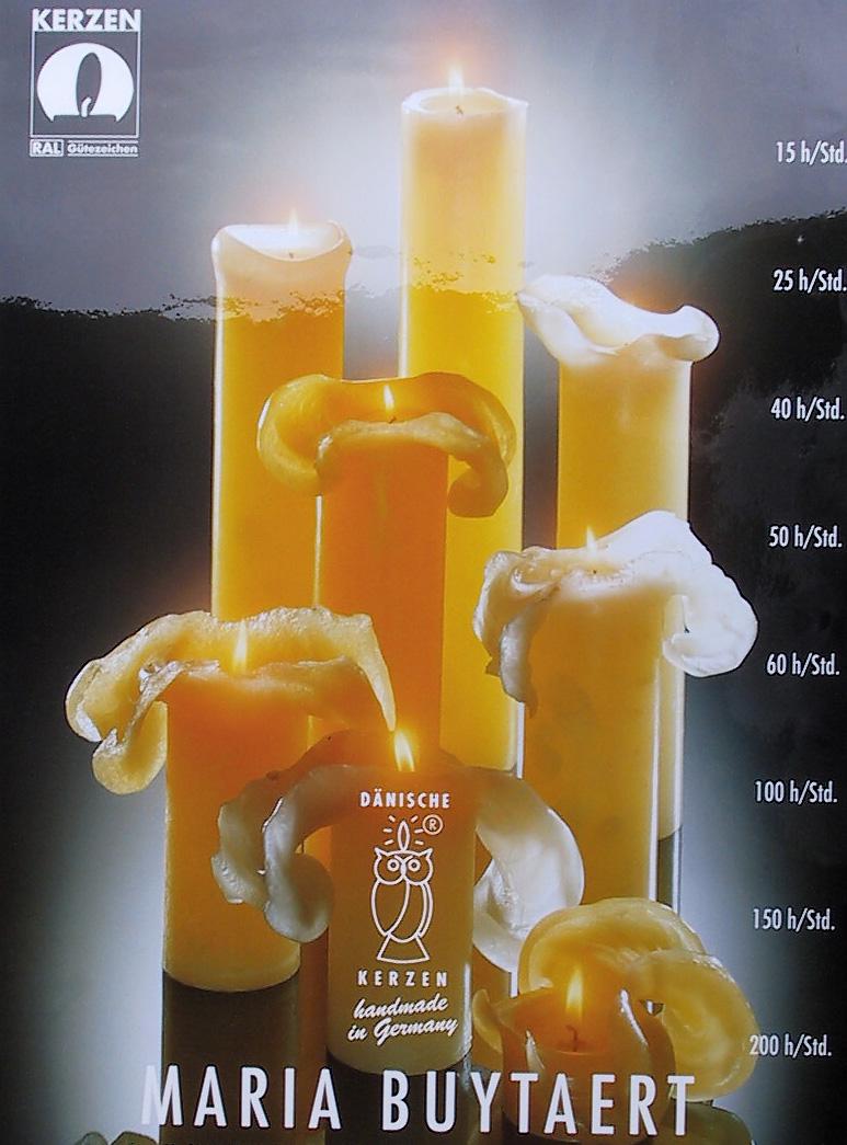 Dänische Kerzen.Dänische Kerzen